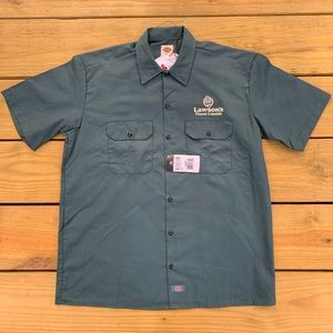 Dickies Lawson's Finest Green Work Shirt